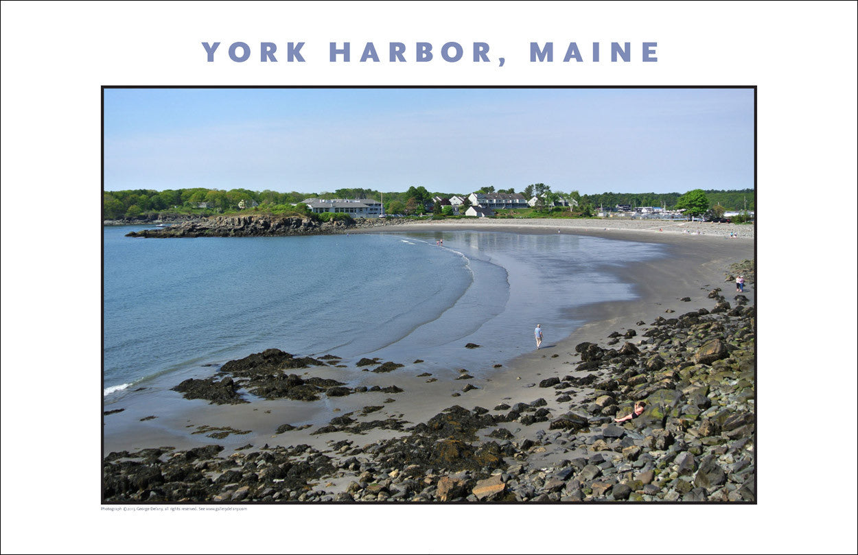York Harbor in Morning, Maine, Place Photo Collection #634