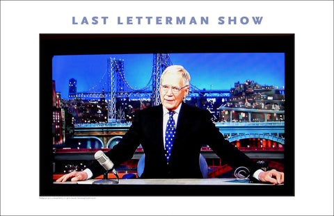 Dave Letterman's Last TV Program, #walldecor #635