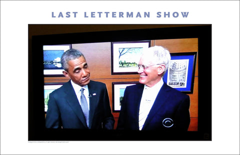 Dave Letterman's Last TV Program, Here with President Obama #636