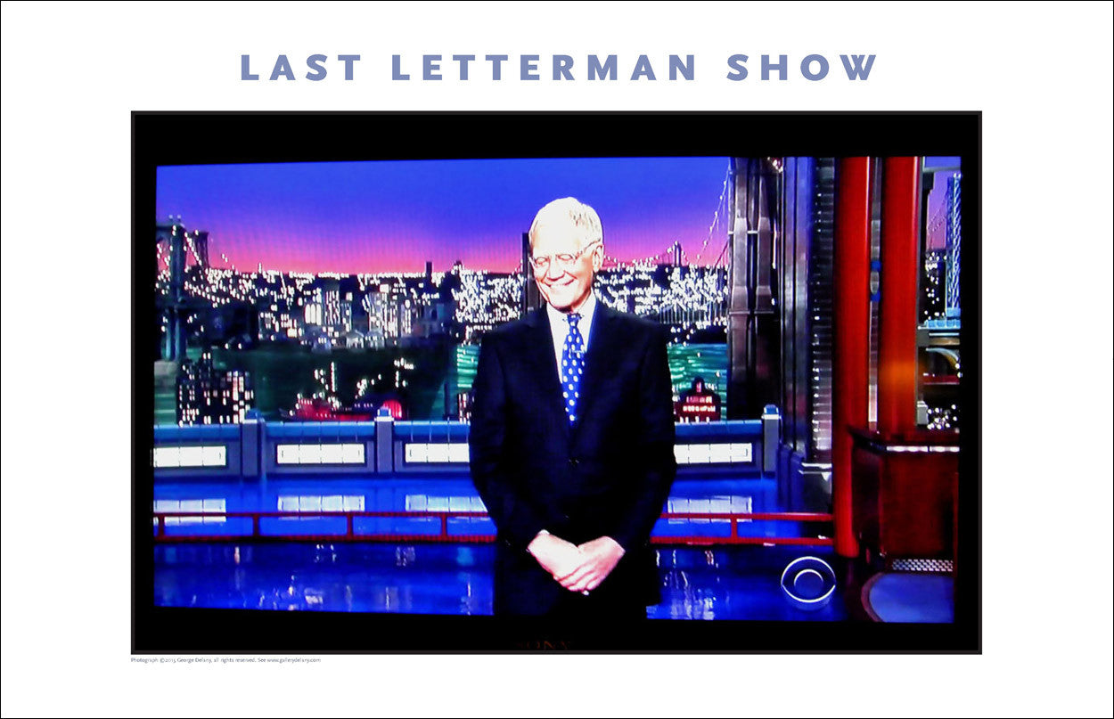 Dave Letterman's Last TV Program, #walldecor #637