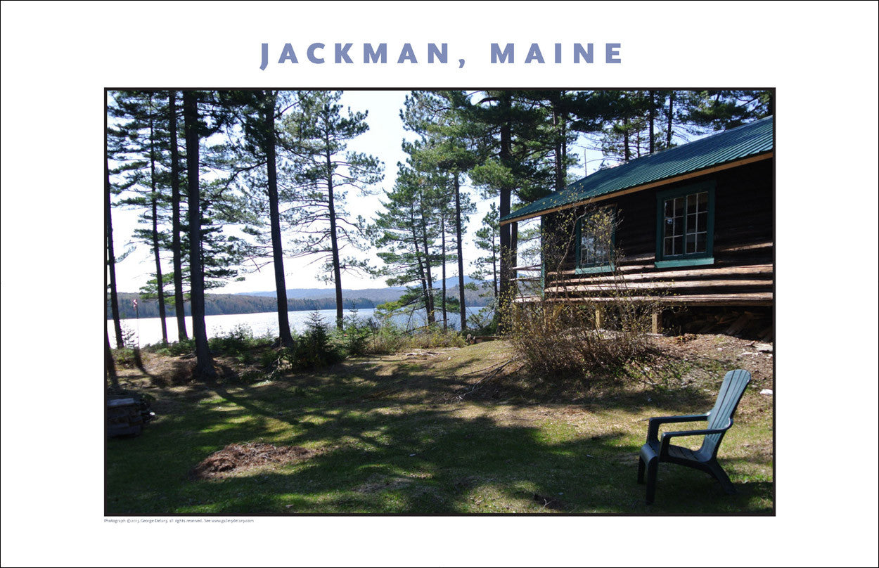 Pretty Heavenly Day... Jackman Maine, Place Photo Poster Collection #641