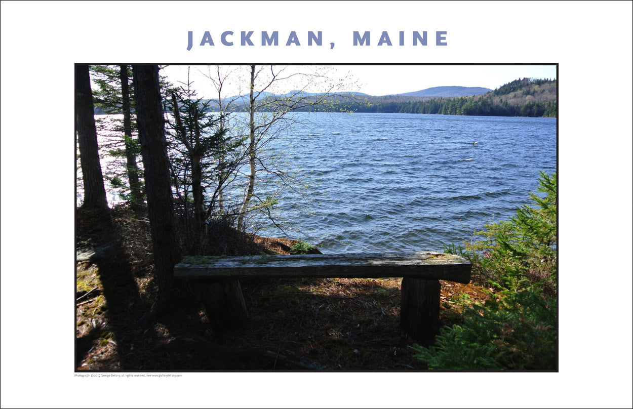 Serenity on Lake... Jackman Maine, Place Photo Collection #644