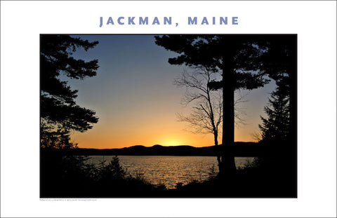 Another Wondrous Sunset... Jackman Maine, Place Photo Collection #646