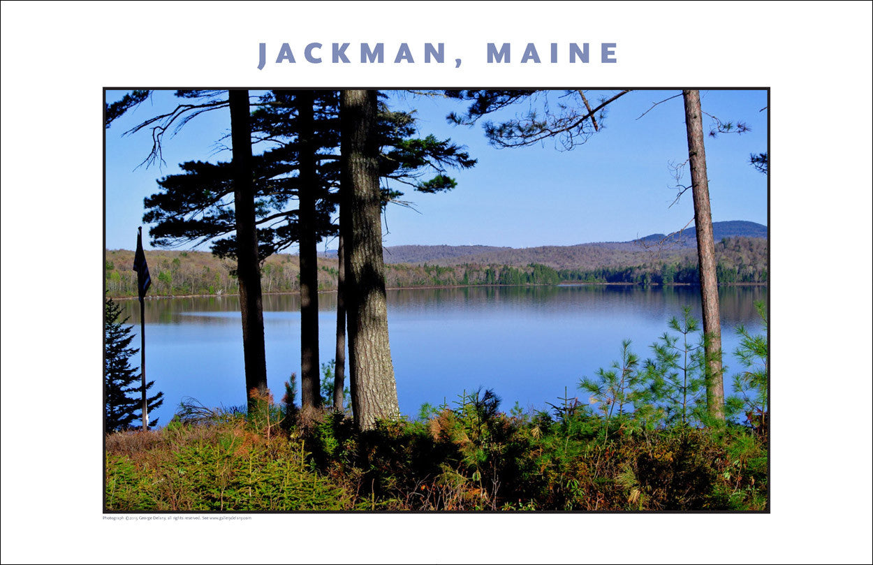 Morning Light on Lake... Jackman Maine, Place Photo Collection #650