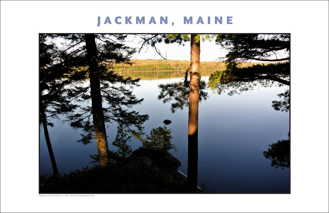 Tranquillity on Lake... Jackman Maine, Place Photo Collection #652