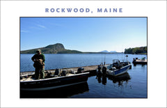Glorious Morning in Rockwood, Maine, Wall Art Photo Collection #655