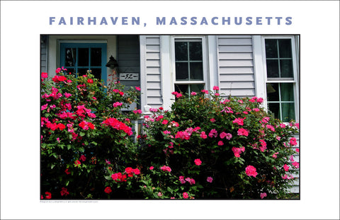 Wall Art, Historic Fairhaven, MA Digital Photo #710