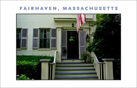 Wall Decor, Historic Fairhaven, MA Digital Photo #711