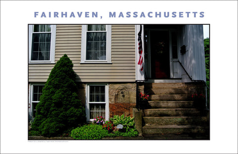 Wall Decor, Historic Fairhaven, MA Digital Photo #715