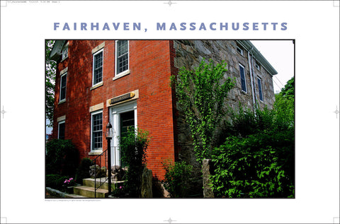 Wall Art, Historic Fairhaven, MA Digital Photo #717