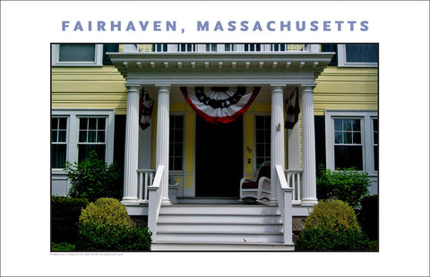 Wall Art, Historic Fairhaven, MA Digital Photo #721