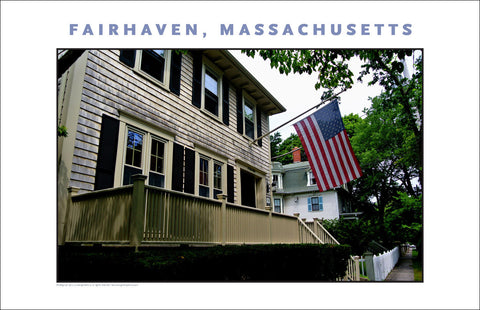 Wall Art, Historic Fairhaven, MA Digital Photo #723