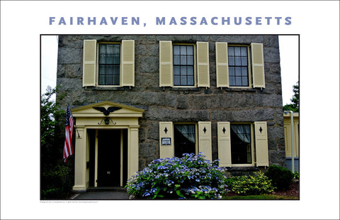 Wall Decor, Historic Fairhaven, MA Digital Photo #725