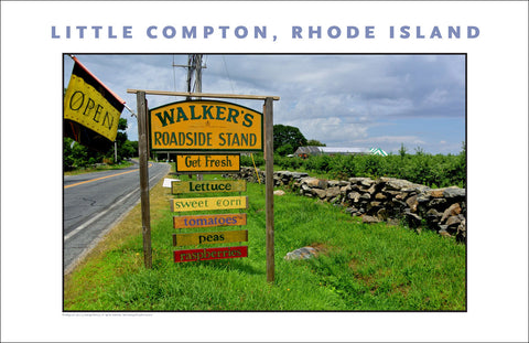 Walker's Roadside Stand Little Compton, RI...Photo Collection #732