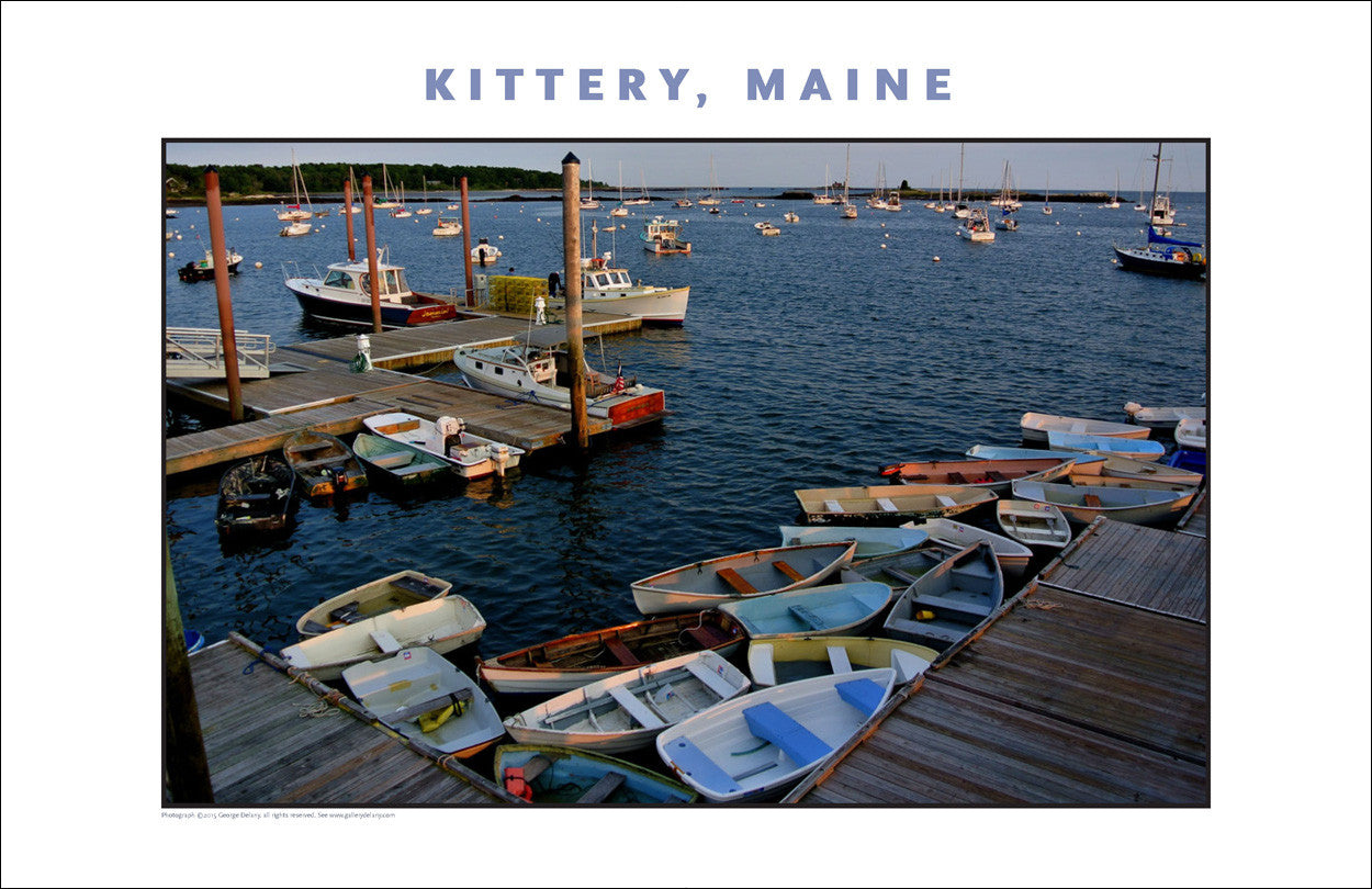 Kittery Maine in the Early Evening, Photo Collection #738