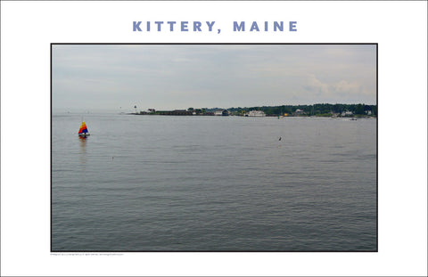 Kittery Maine in Light Rain... Photo Collection #739