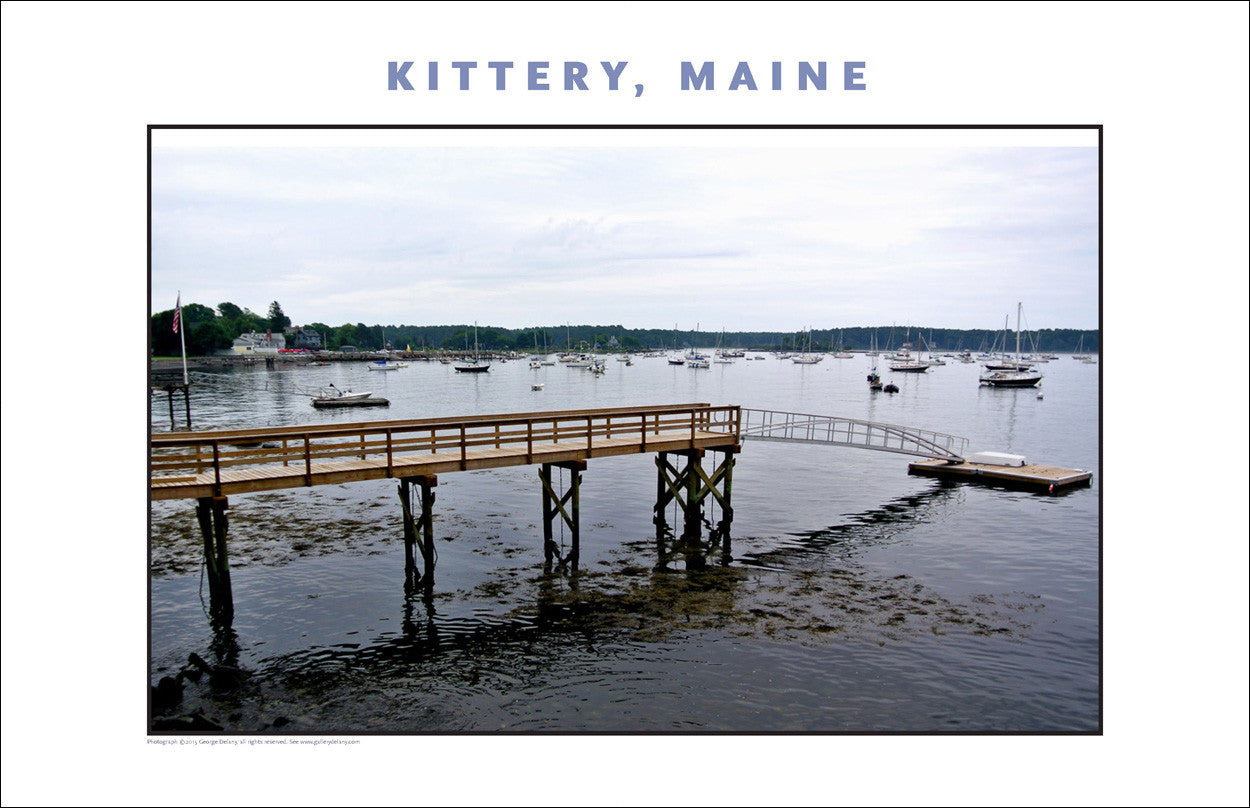 Not Bad! A Dock at Kittery Maine... Photo Collection #741