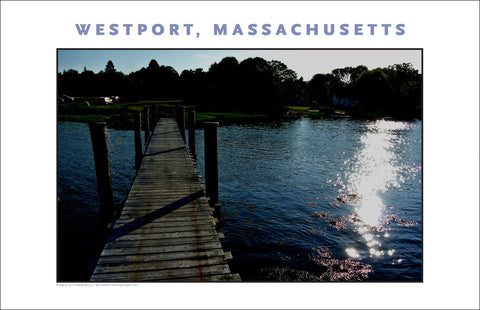 Wall Art: Evening On Westport River, MA...Photo Collection #747