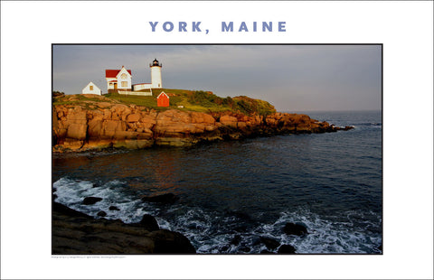York, Maine, Nubble Lighthouse... Photo Collection #753