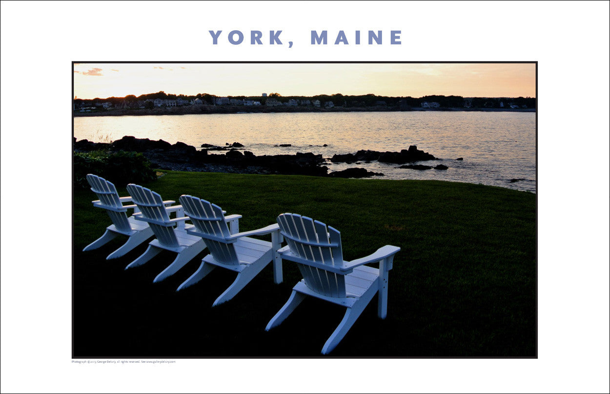 Sundown View, York, Maine... Photo Collection #756