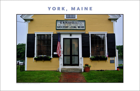 George Marshall Art Gallery. York, Maine...Photo Collection #760