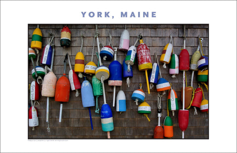 Lobster Pots, York, Maine...Photo Collection #761