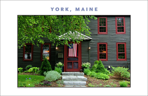 In a July 4 Mode, York, Maine...Photo Collection #762