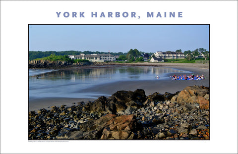 Yoga at Sunrise, York Harbor, Maine...Photo Collection #764