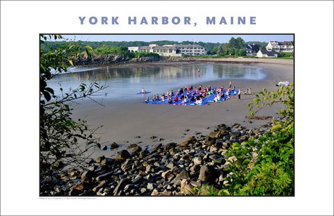 Yoga on the Beach, York Harbor, Maine...Photo Collection #766