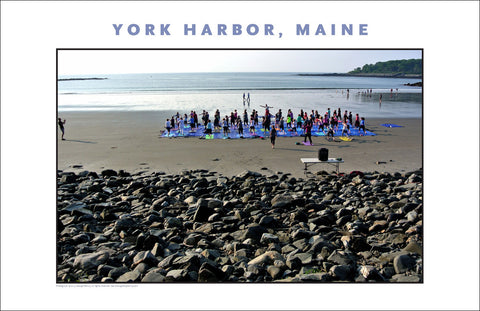 Morning Yoga, York Harbor, Maine...Photo Collection #767