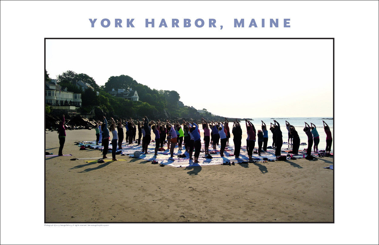 Morning Yoga, York Harbor, Maine...Photo Collection #768