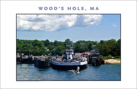 Leaving Wood's Hole for Martha's Vineyard...#771