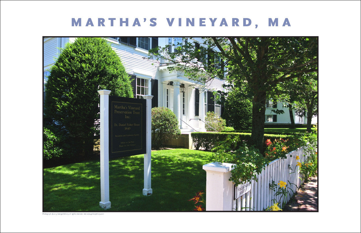 Martha's Vineyard Preservation Trust, Edgartown Wall Decor #775