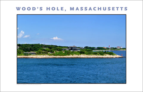 Return to Wood's Hole from Martha's Vineyard Wall Decor #806