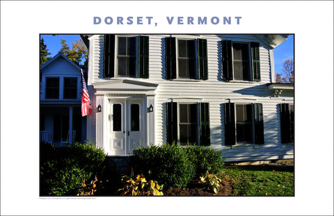 Just A Local Home, Dorset, Vermont, Collection #821