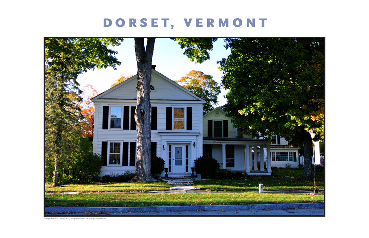 Just A Local Home, Dorset, Vermont, Collection #822