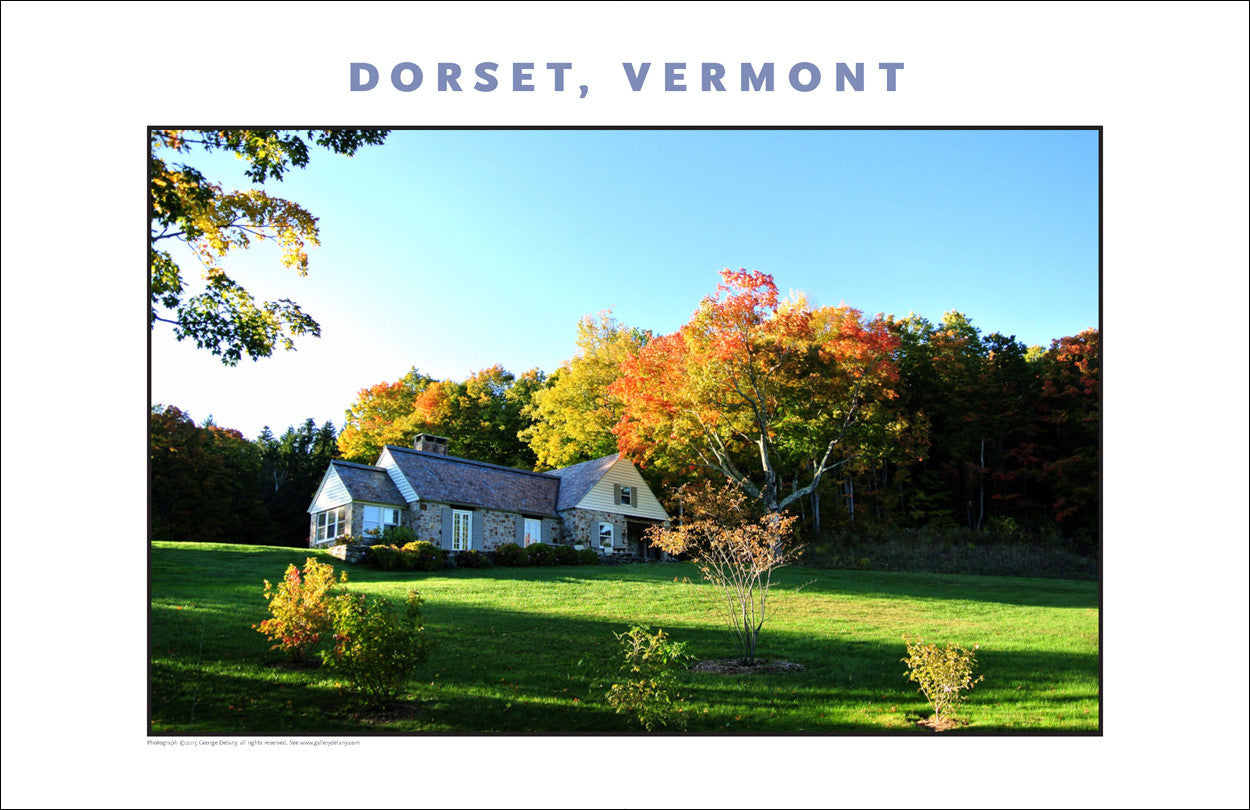 Mountain Retreat... Dorset, Vermont, Collection #825