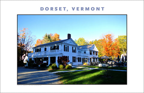 The Famous Barrows House... Dorset, Vermont, Collection #826