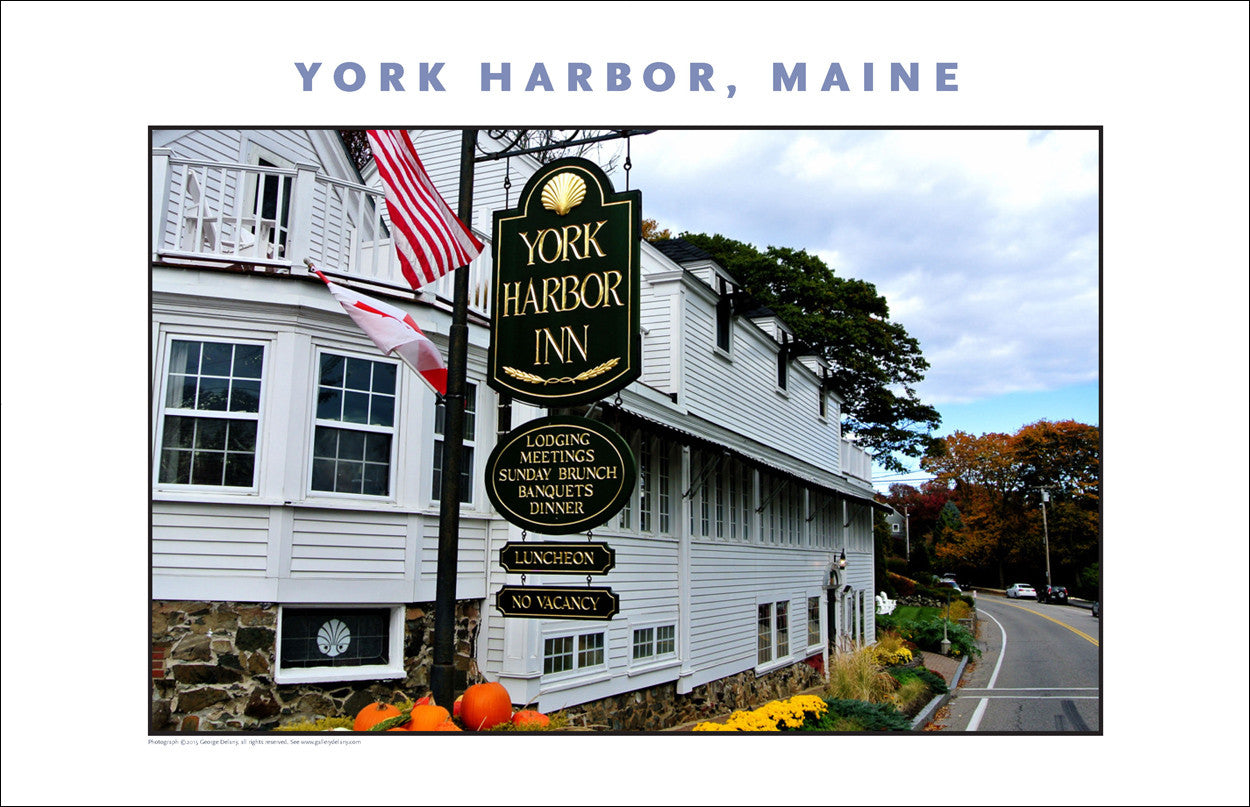 York Harbor Inn, York Harbor, Maine...#829