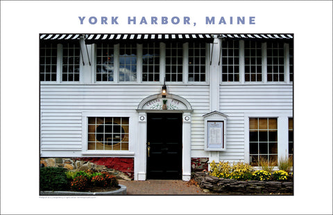The Cellar Bar, York Harbor Inn, York Harbor, Maine...#830