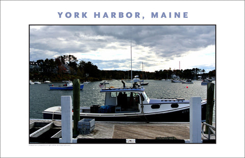 Fishing Boat at York Harbor, Maine...#831