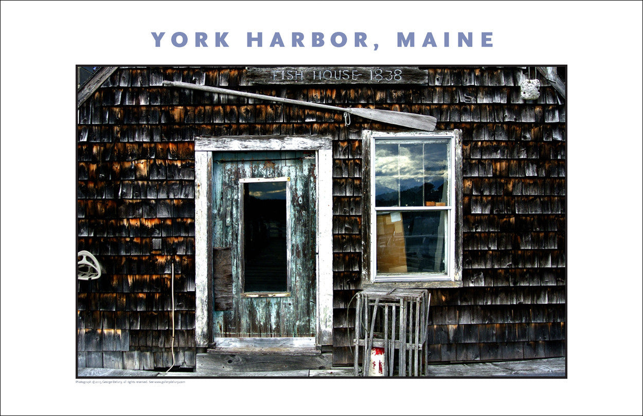 Fishing House, York Harbor, Maine...#832