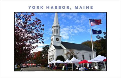 Fall Festival at York Harbor, Maine...#833