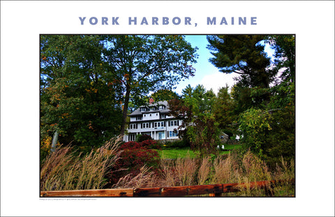 Driving into Town, York Harbor, Maine...#837