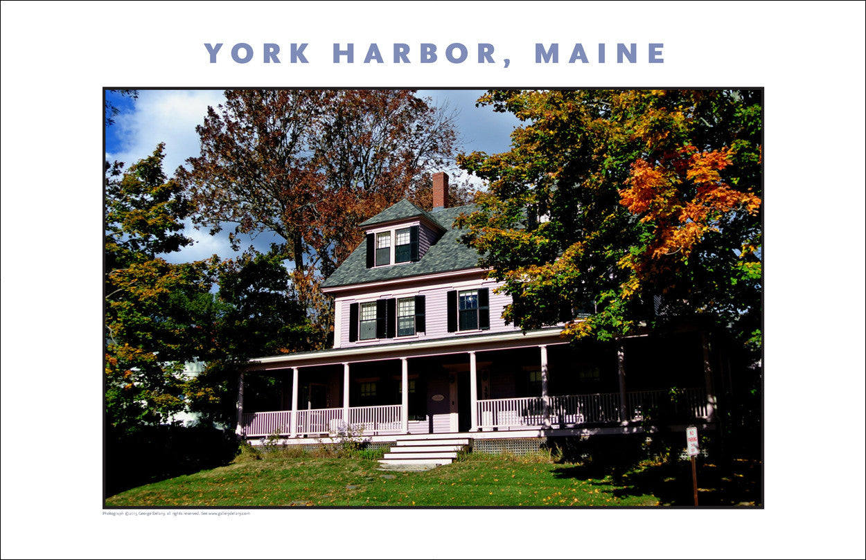 Random Maine House, Lilac Color... York Harbor, Maine #843