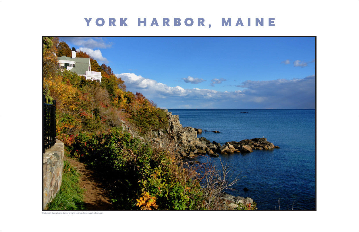 OK, Wow, Waterfront View at York Harbor, Maine #846