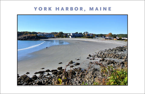 August Long Gone on Beach at York Harbor, Maine #859