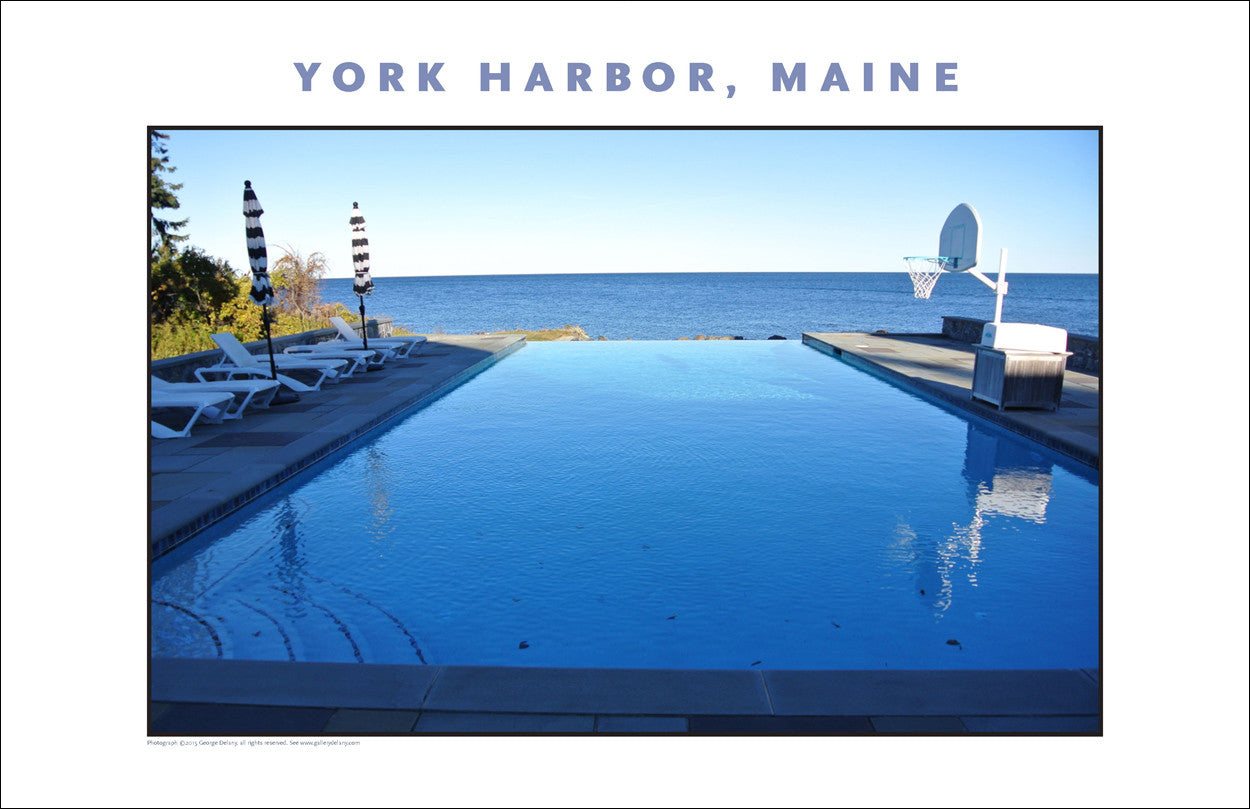 Looks More Like California... at York Harbor, Maine #860