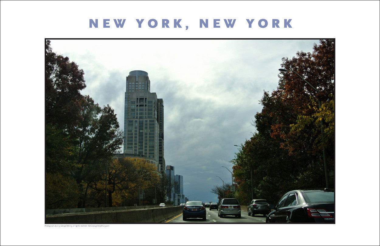 Fall in New York City Photo Art #861
