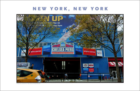 Chelsea Piers, New York City Photo Art #863
